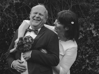 El matrimonio de Pamela y Bert