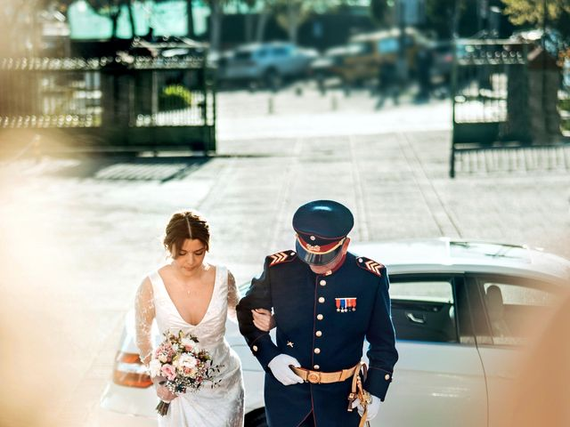 El matrimonio de Pablo y Romina en Vitacura, Santiago 14