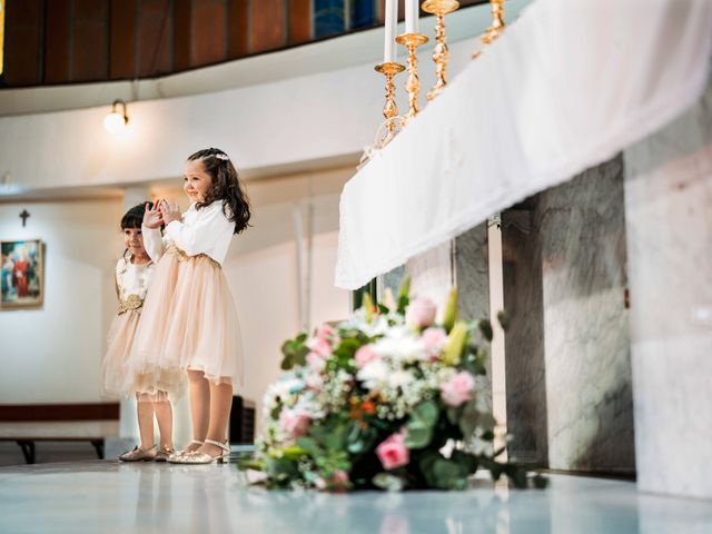 El matrimonio de Pablo y Romina en Vitacura, Santiago 17