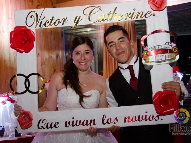 El matrimonio de Catherine y Victor
