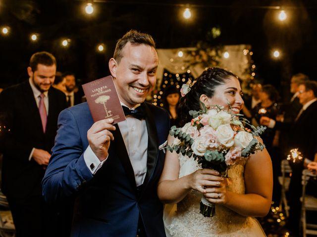 El matrimonio de Nicole y Juan Pablo