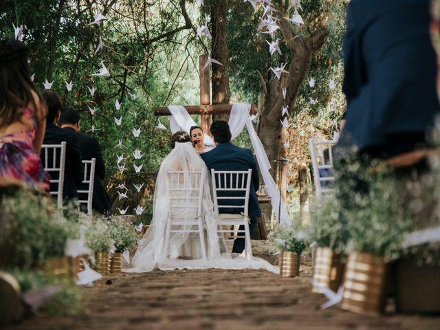El matrimonio de Monica y Ferrán
