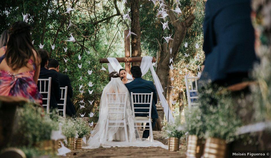 El matrimonio de Ferrán y Monica en Pirque, Cordillera