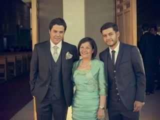 El matrimonio de Sebastián y Caroline 1