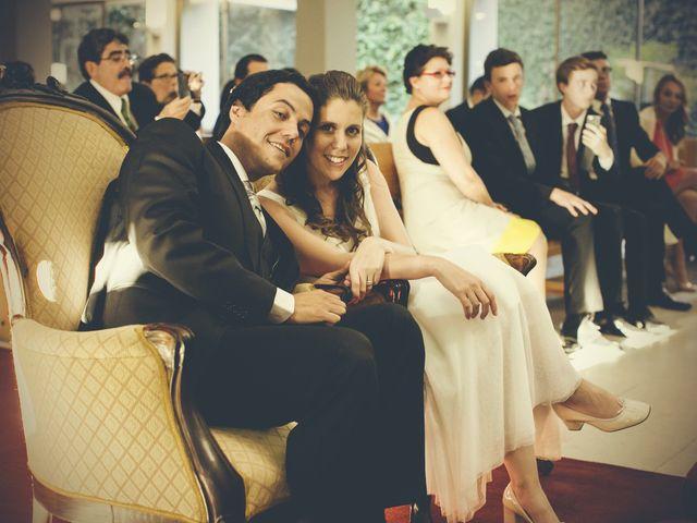 El matrimonio de Sebastián y Caroline