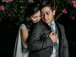 El matrimonio de Evelyn y Esteban