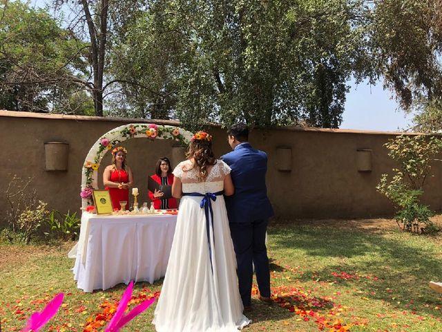 El matrimonio de María José y Marco