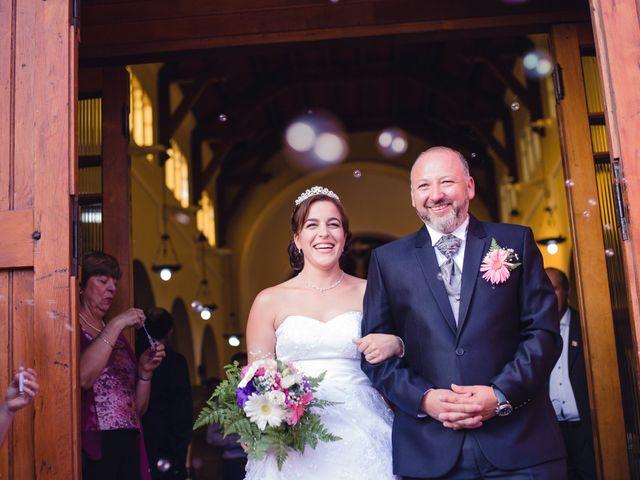 El matrimonio de Romina y Sergio
