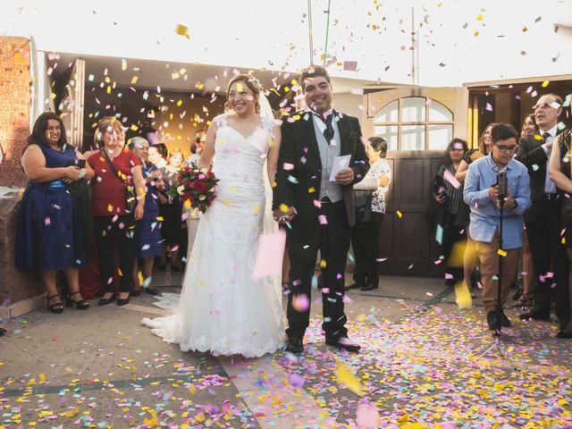El matrimonio de Marjorie y Marcos
