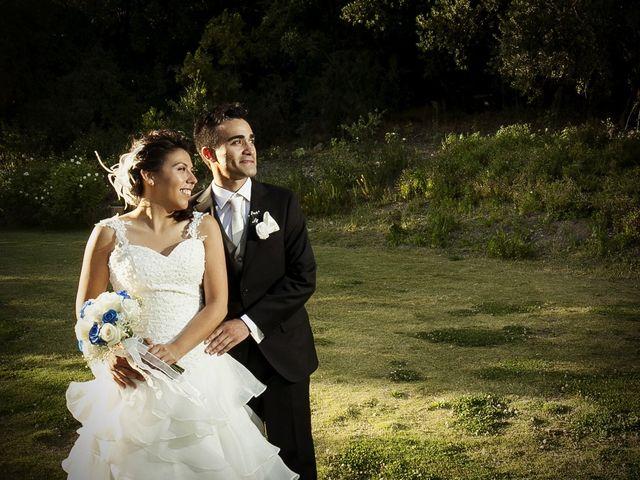 El matrimonio de Karen y Hernán