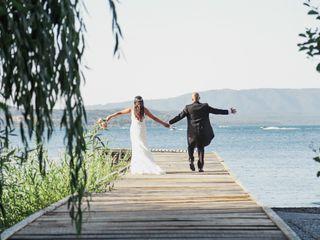 El matrimonio de Sandra y Sebastián