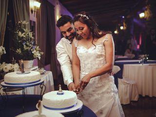 El matrimonio de Lissette y Leonardo