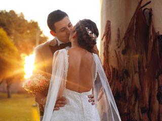 El matrimonio de Evelyn y Miguel