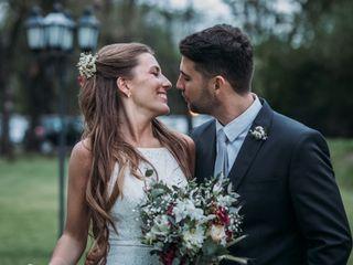 El matrimonio de Flor y Agustín