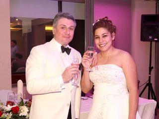 El matrimonio de Vasco y Andrea