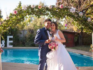 El matrimonio de Evelyn  y Héctor
