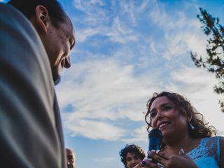 El matrimonio de Gino Grondona  y Mónica Varela 1