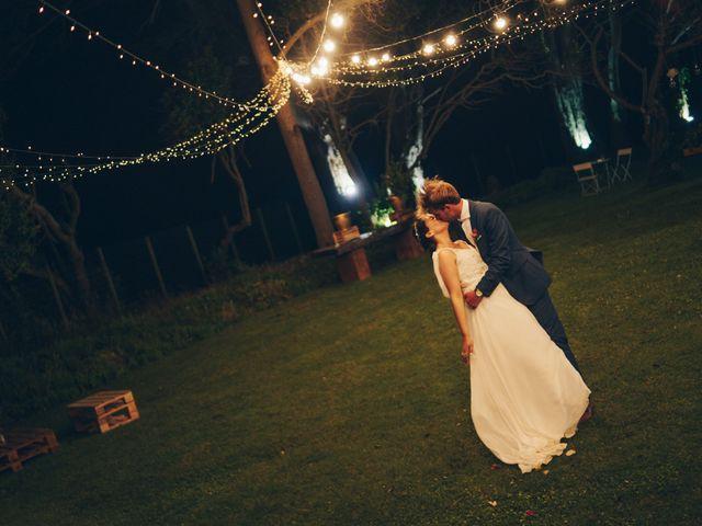 El matrimonio de Maria José y Bo Kolstrup