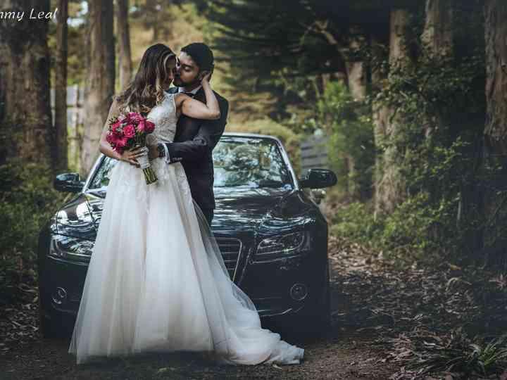 El matrimonio de Álvaro y Yerissa