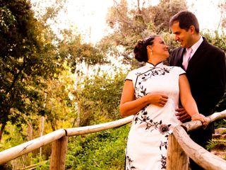 El matrimonio de Belkys y Alejandro