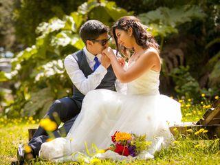 El matrimonio de Lya y Sebastian
