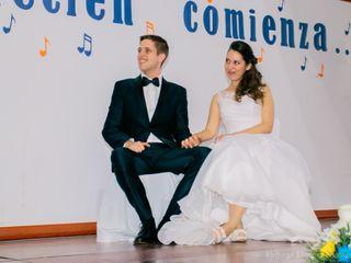El matrimonio de Paulina y Gary