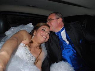 El matrimonio de Denys y Marcela