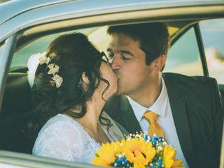 El matrimonio de Daniela  y Roberto