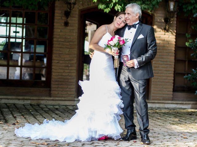 El matrimonio de Carolina y Juan Antonio