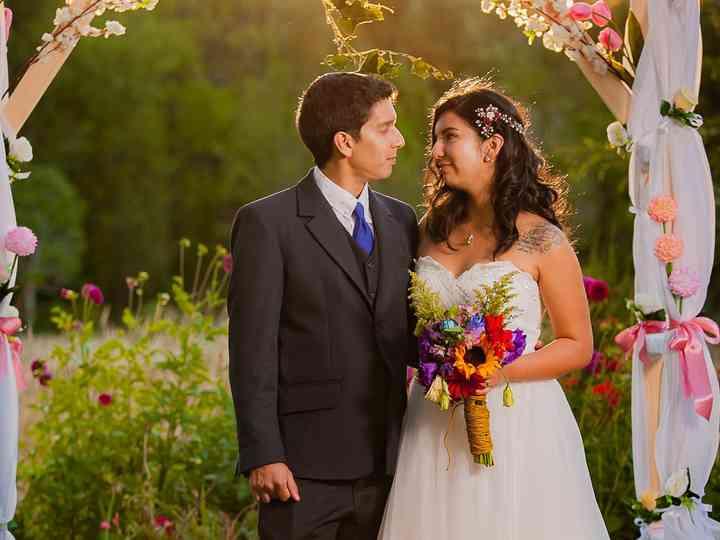 El matrimonio de Lya y Sebastián