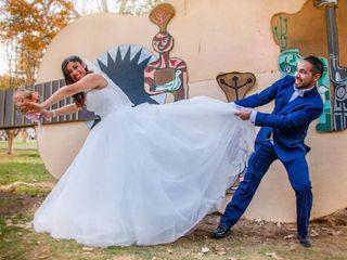 El matrimonio de Nicole y Cristóbal