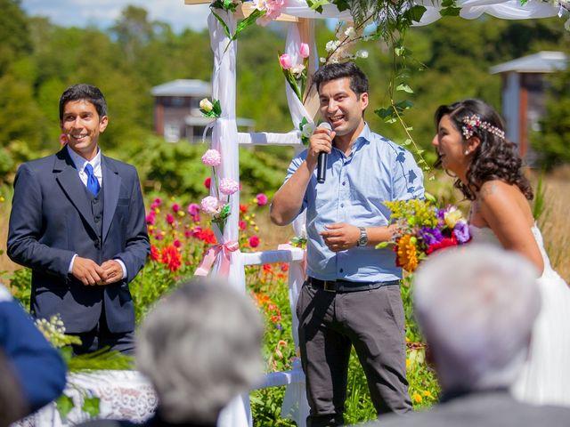 El matrimonio de Sebastián y Lya en Puerto Varas, Llanquihue 41