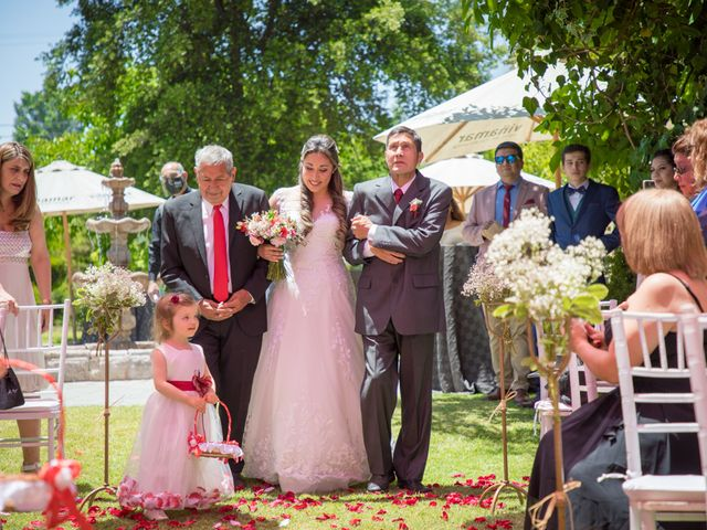 El matrimonio de Sebastian y Javiera en Calera de Tango, Maipo 70