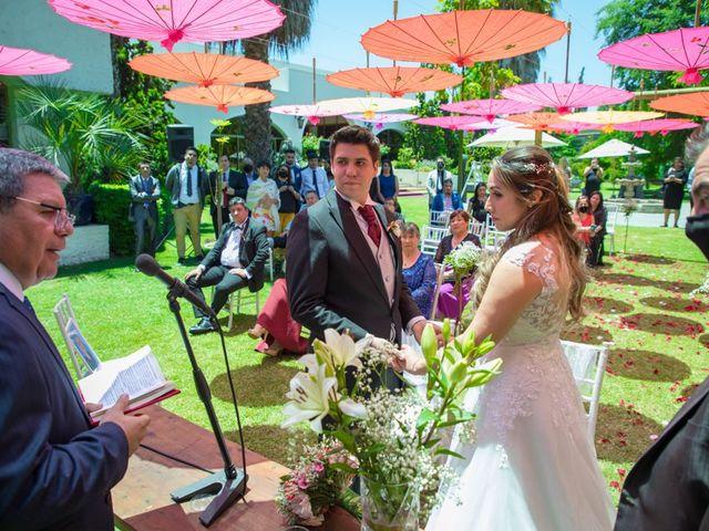 El matrimonio de Sebastian y Javiera en Calera de Tango, Maipo 88