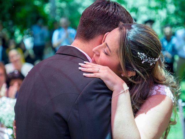 El matrimonio de Sebastian y Javiera en Calera de Tango, Maipo 95