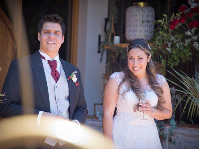 El matrimonio de Sebastian y Javiera en Calera de Tango, Maipo 105