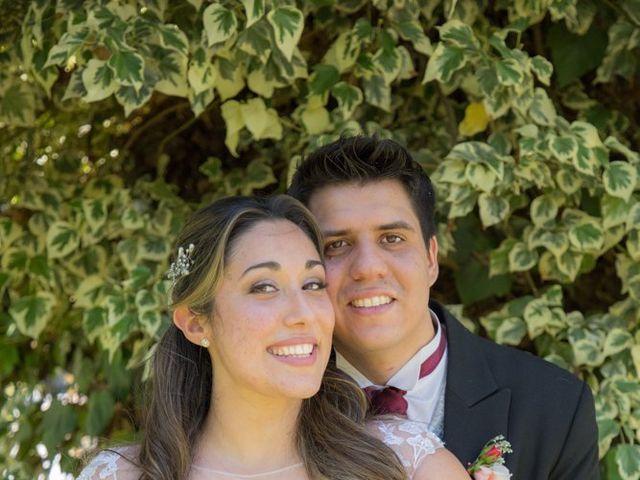 El matrimonio de Sebastian y Javiera en Calera de Tango, Maipo 115