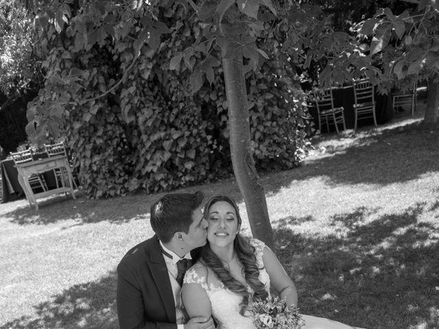 El matrimonio de Sebastian y Javiera en Calera de Tango, Maipo 120