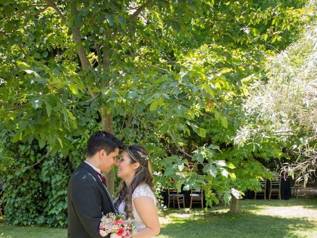 El matrimonio de Sebastian y Javiera en Calera de Tango, Maipo 124