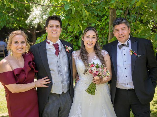 El matrimonio de Sebastian y Javiera en Calera de Tango, Maipo 125