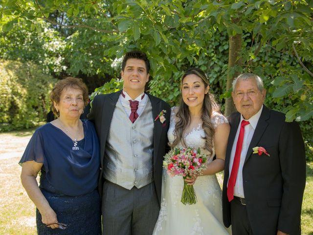 El matrimonio de Sebastian y Javiera en Calera de Tango, Maipo 126