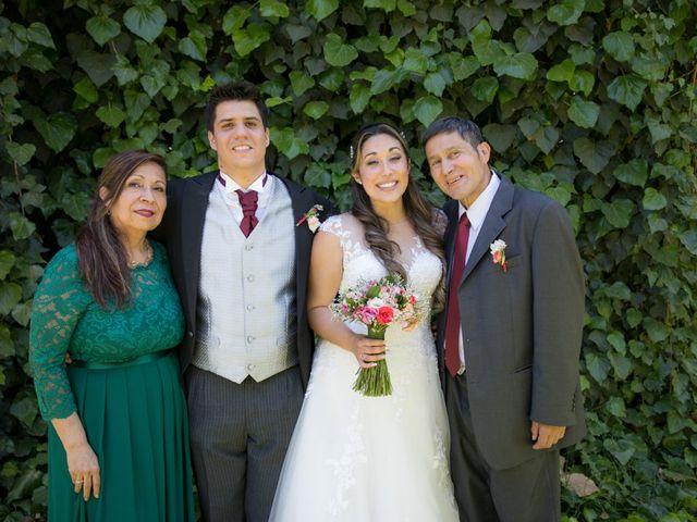 El matrimonio de Sebastian y Javiera en Calera de Tango, Maipo 127