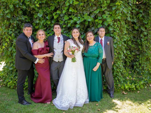El matrimonio de Sebastian y Javiera en Calera de Tango, Maipo 128