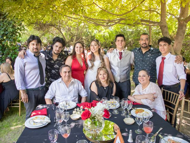 El matrimonio de Sebastian y Javiera en Calera de Tango, Maipo 133