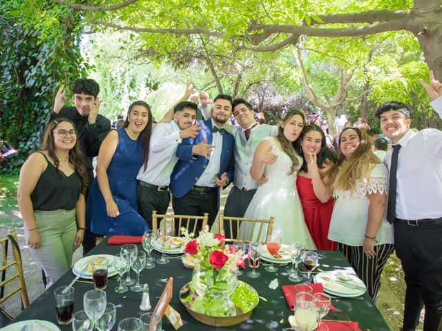 El matrimonio de Sebastian y Javiera en Calera de Tango, Maipo 134