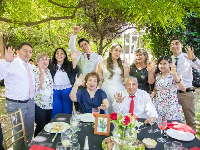 El matrimonio de Sebastian y Javiera en Calera de Tango, Maipo 136
