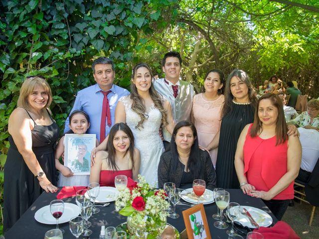 El matrimonio de Sebastian y Javiera en Calera de Tango, Maipo 137