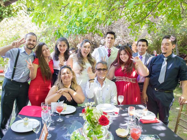 El matrimonio de Sebastian y Javiera en Calera de Tango, Maipo 139