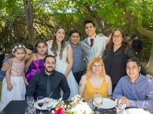 El matrimonio de Sebastian y Javiera en Calera de Tango, Maipo 140