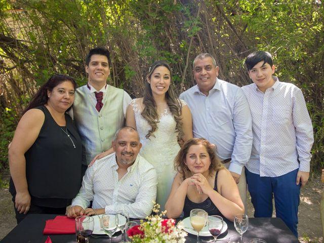 El matrimonio de Sebastian y Javiera en Calera de Tango, Maipo 141